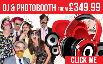 DJ and PhotoBooth from only £349.99