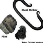 steel flint and striker fire starter