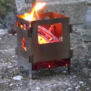 Survival Aids Bushbox Hobo Pocket Stove Test And Review