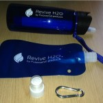 revive H2O water filter bottle