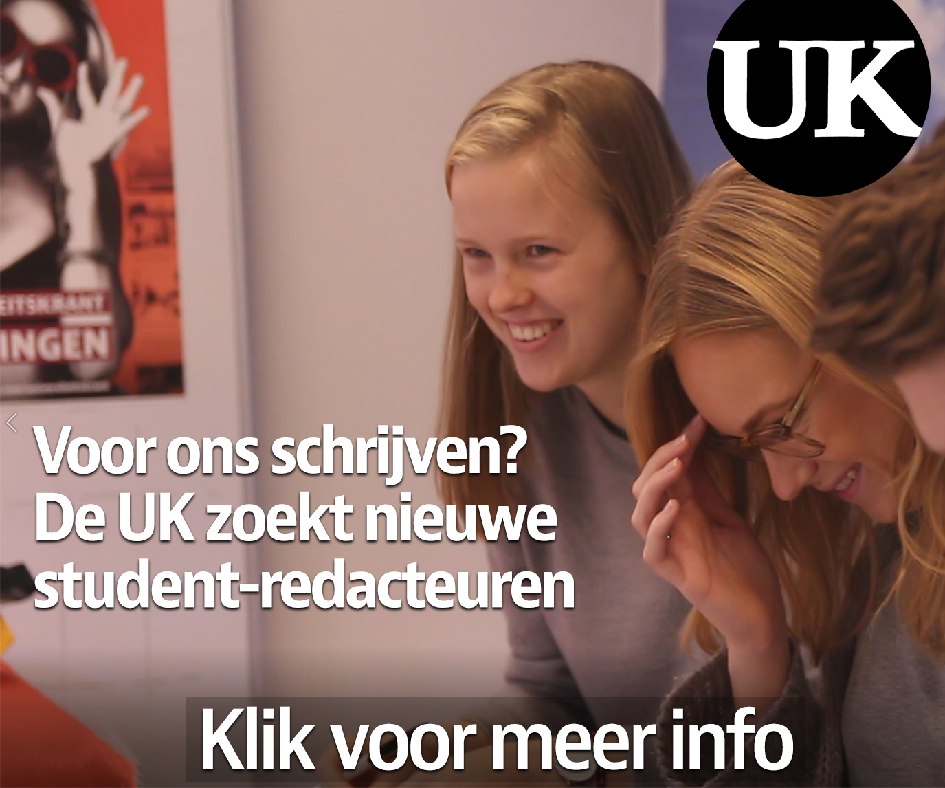Advertentie UK-student