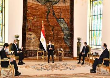 الرئيس السيسي يستقبل رئيس الوزراء بالمملكة الأردنية الهاشمية