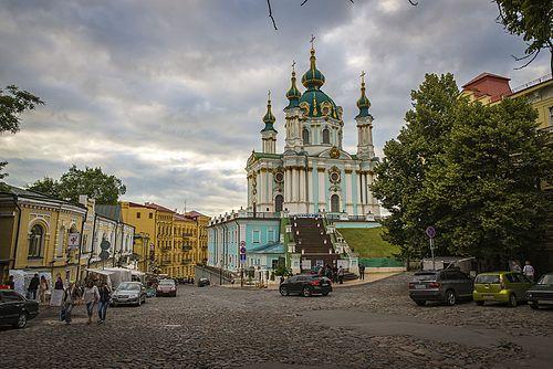 أحد أكبر الكنائس الموجودة في أوكرانيا