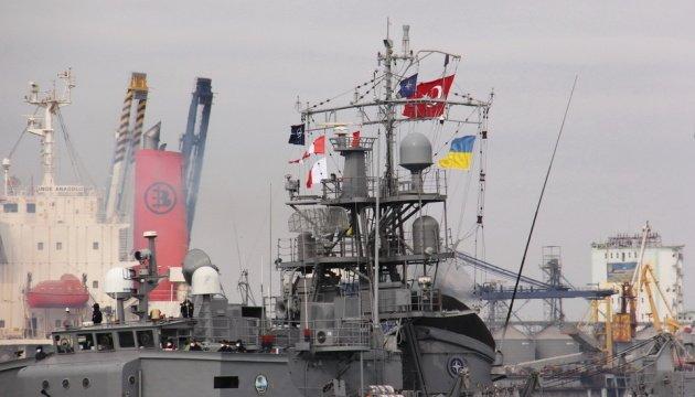 أربع سفن تابعة للناتو تدخل ميناء أوديسا