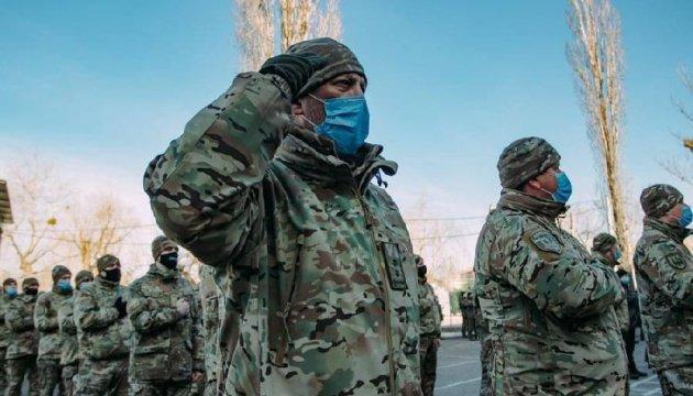 الحرس الوطني يحتفل بيوم المتطوع الأوكراني