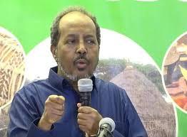 الرئيس الصومالي الاسبق علي مهدي محمد