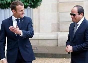 السيسي يهاتف نظيره الفرنسي