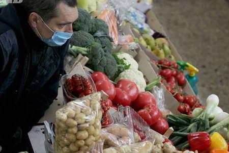 الغاء العديد من المعارض الزراعية في كييف بسبب الحجر الصحي