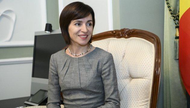 رئيسة مولدوفا مايا ساندو