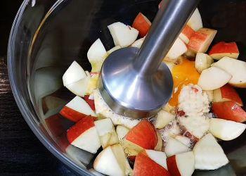 فطيرة التفاح بالبيض