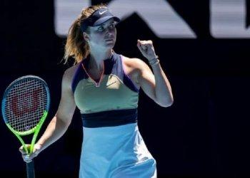 لاعبة التنس الأوكرانية الأولى إلينا سفيتولينا
