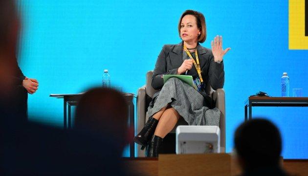 وزيرة السياسة الاجتماعية مارينا لازبنا