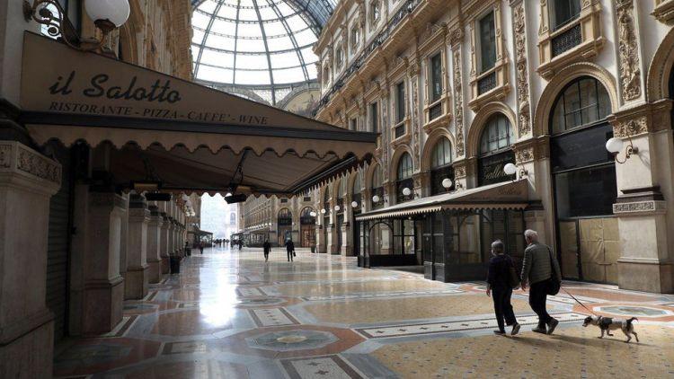 إيطاليا تعود إلى الإغلاق الصارم حتى عيد الفصح