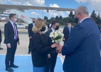 الرئيس زيلينسكي في زيارة لتركيا