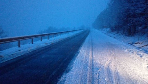 تساقط كثيف للثلوج في منطقة ترانسكارباثيا