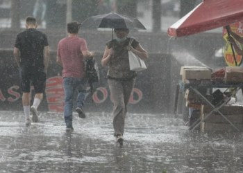 الامطار والعواصف الرعدية ستغطي جميع انحاء اوكرانيا