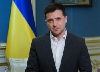 الرئيس الاوكراني فولوديمير زيلينسكي