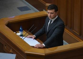 جلسة رسمية للبرلمان الأوكراني