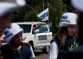 بعثة منظمة الأمن والتعاون في أوروبا تحصي ما يقرب من 2000 انتهاك لـ الصمت خلال أسبوع