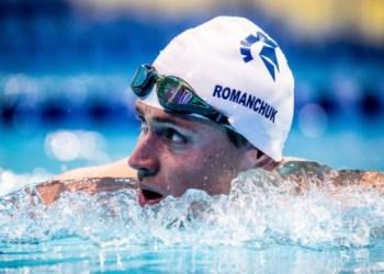 """السباح ميخايلو رومانشوك فاز بـ """"البرونزية"""" في الألعاب الأولمبية"""