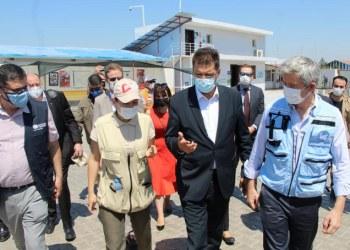 """الهلال الأحمر يحذر من إغلاق طريق المساعدات السورية """"اللاإنساني"""""""