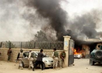 الولايات المتحدة تضرب أكثر من 12 غارة جوية على طالبان في أفغانستان
