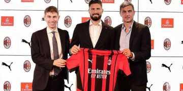 انتقال المهاجم الفرنسي جيرود رسمياً إلى ميلان