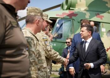 زيلينسكي يصل دونيتسك في رحلة عمل