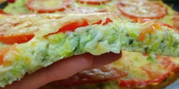 صنع البيتزا بدون عجينة