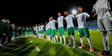 لاعبو السعودية يستعدون للمباراة الافتتاحية للأولمبياد ضد ساحل العاج