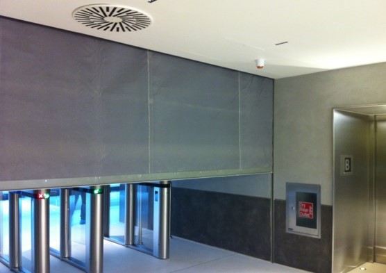 fire curtain protection from spread of