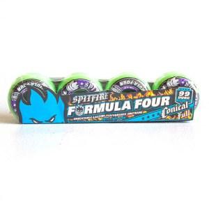 spitfire formula 4 99duro hot green wheels