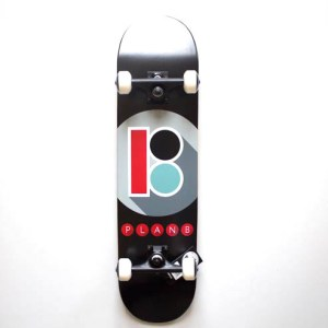 Plan B Subway Complete Skateboard - 7.75""