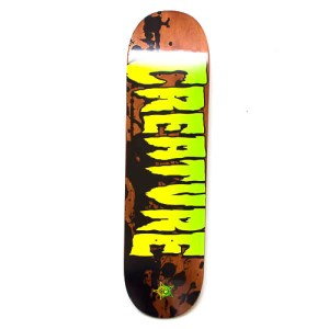 """Creature Stained Deck - 8.26"""""""