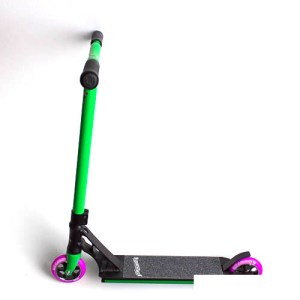 Grit Tremor Grom Complete Scooter - Satin Black/Green