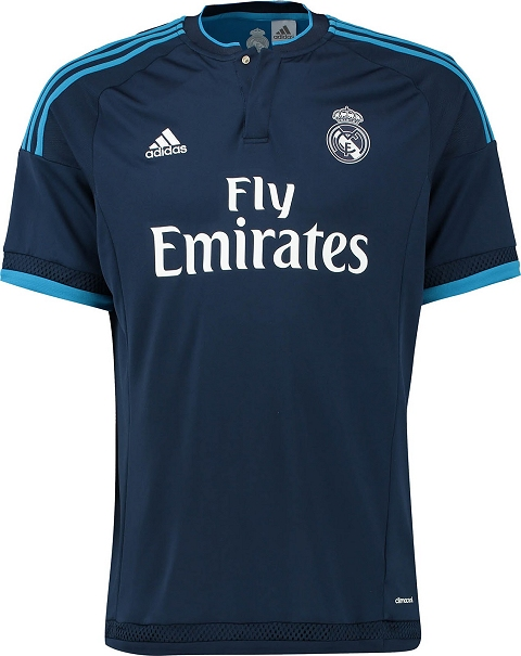 Adidas Real Madrid CF 2015/16 Third Jersey