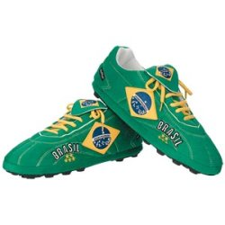 Brazil Sloffies - Football Slippers (Small)