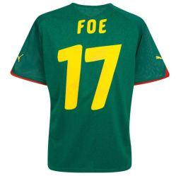 2010-11 Cameroon World Cup home (Foe 17)