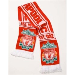 Liverpool FC Crest Scarf