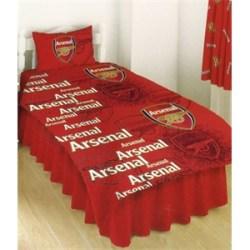 Arsenal FC Rotary Single Duvet Cover