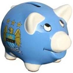 Man City FC Piggy Bank