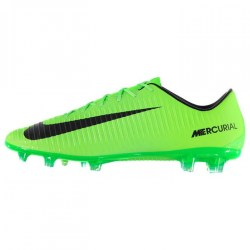 Nike Mercurial Veloce FG Football Boots (Green-Black)