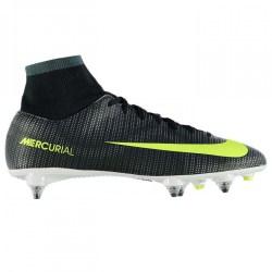 Nike Mercurial Victory CR7 DF SG Mens Football Boots (Black-Volt)