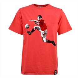 Manchester United Retro Cantona T-Shirt (Red)