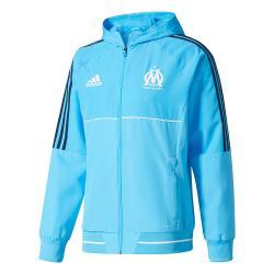 2017-2018 Marseille Adidas Presentation Jacket (Blue)