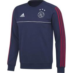 2017-2018 Ajax Adidas Sweat Top (Blue)