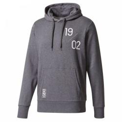 2017-2018 Real Madrid Adidas Graphic Hoody (Grey)