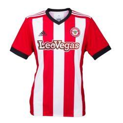2017-2018 Brentford Adidas Home Football Shirt