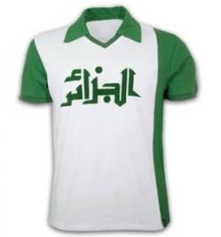 Algeria WC 1982 Short Sleeve Retro Shirt 100% cotton