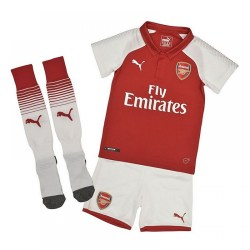 2017-2018 Arsenal Home Little Boys Mini Kit